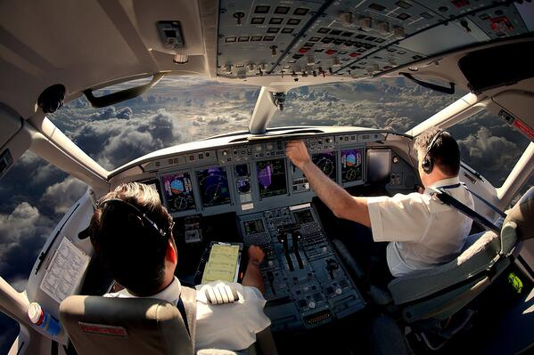 airline pilots - reducing stress levels