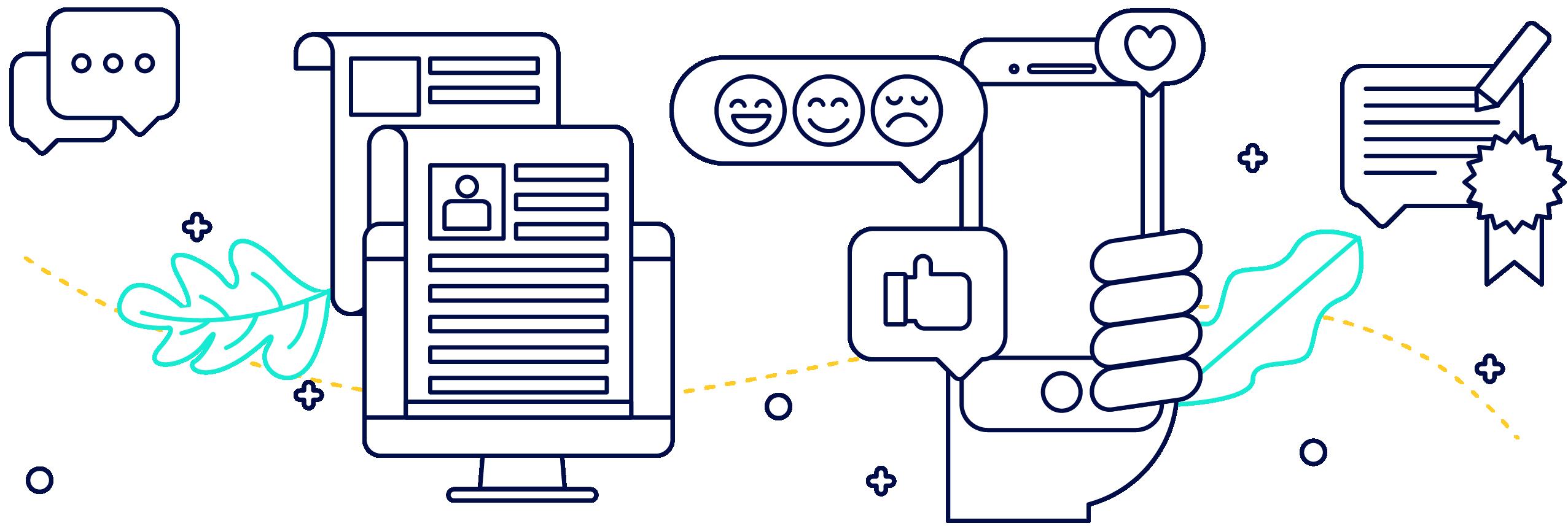 Articulate - 03-15 eye-opening B2B social media statistics - The best B2B social media platforms - How to use social media well-01