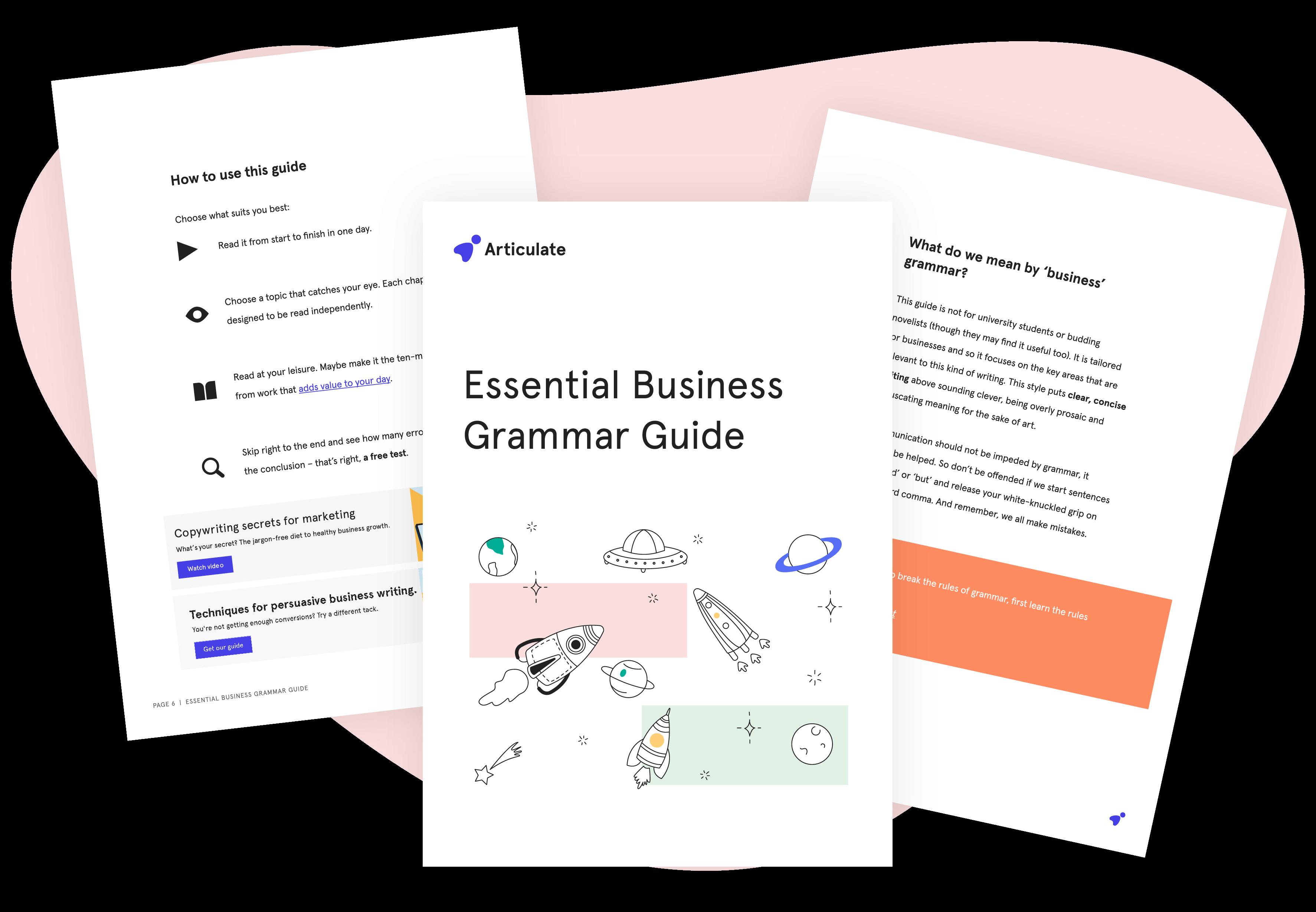 Essential Business Grammar Guide