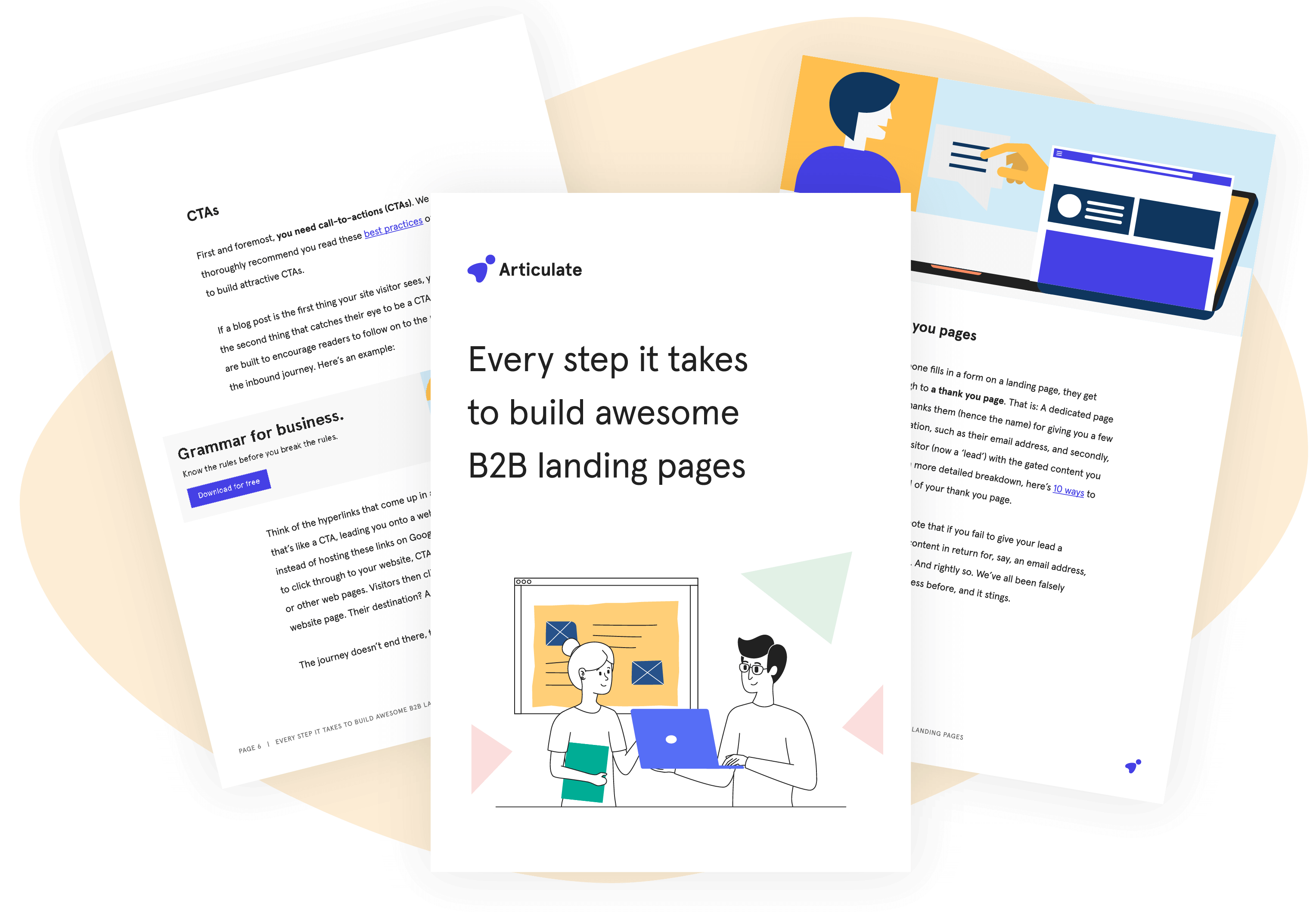 Every step it takes to build awesome B2B landing pages