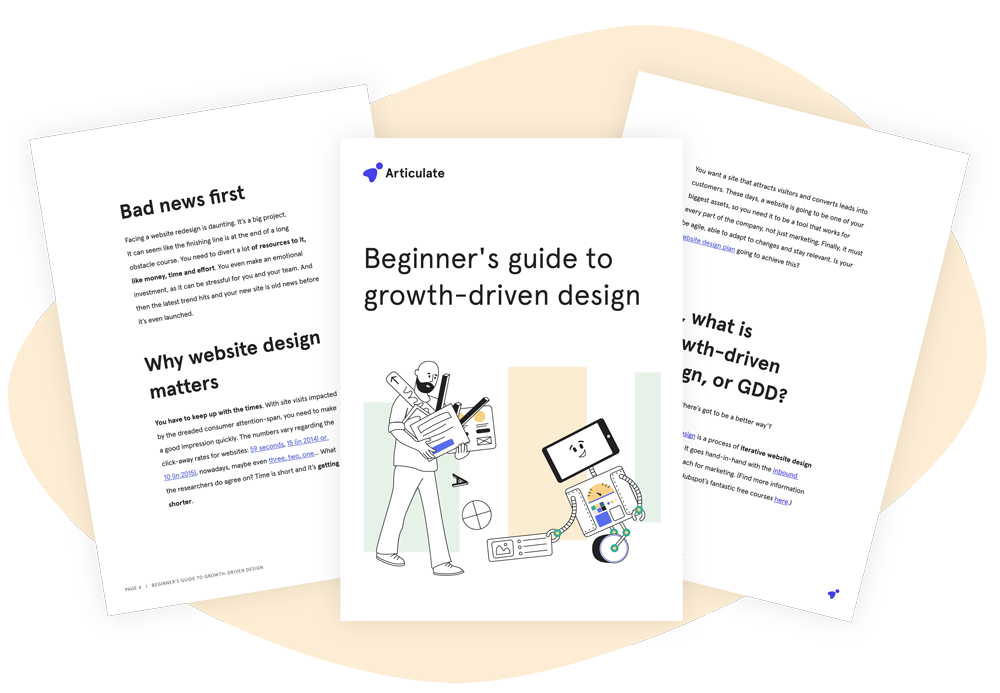 Beginners guide to growth driven design