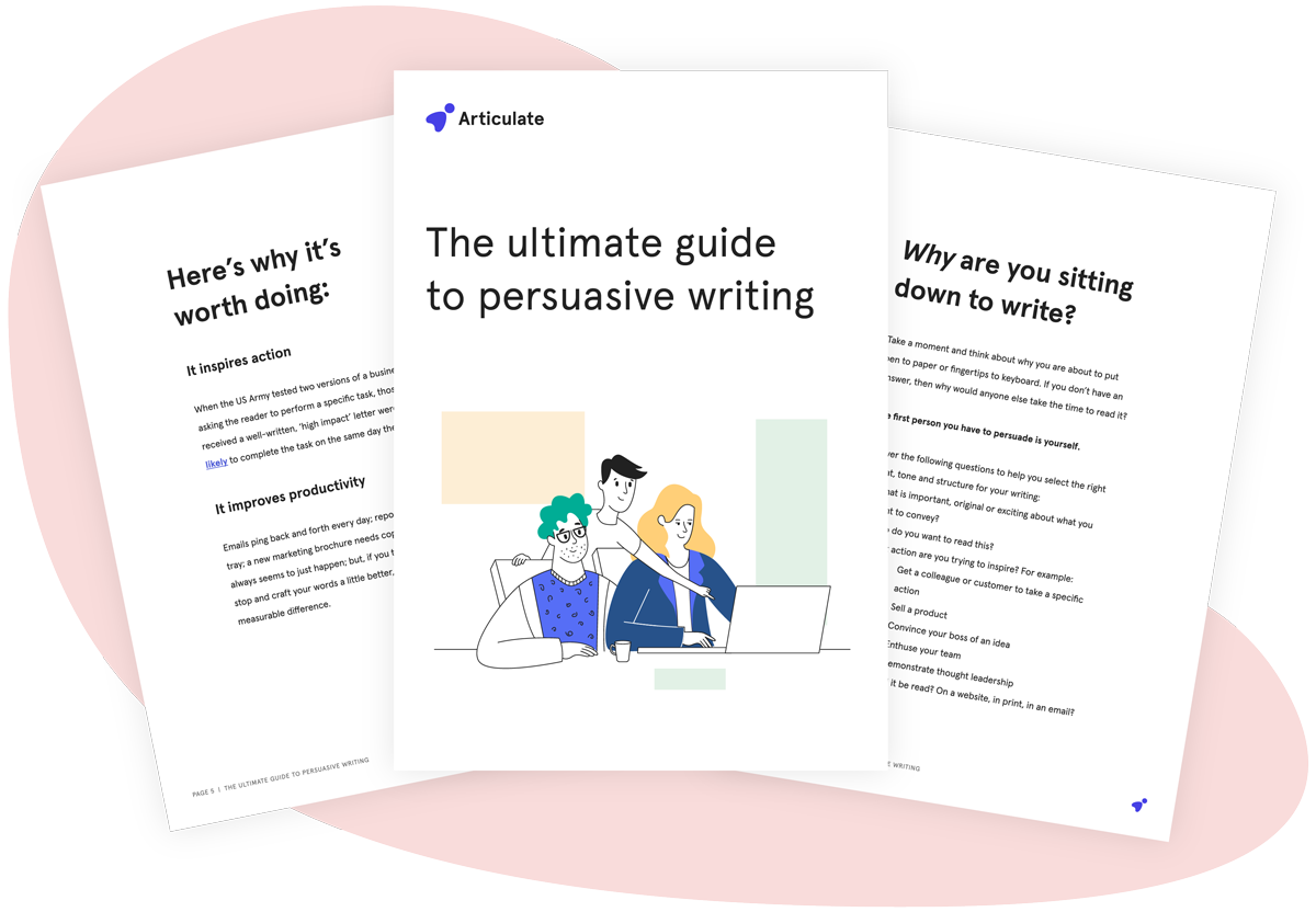 The ultimate guide to persuasive writing