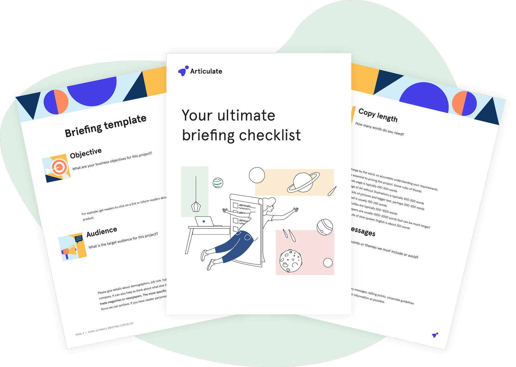 Your ultimate briefing checklist
