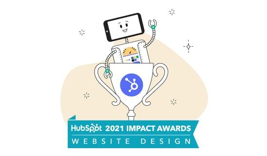Articulate Marketing wins HubSpot Impact Award for website design