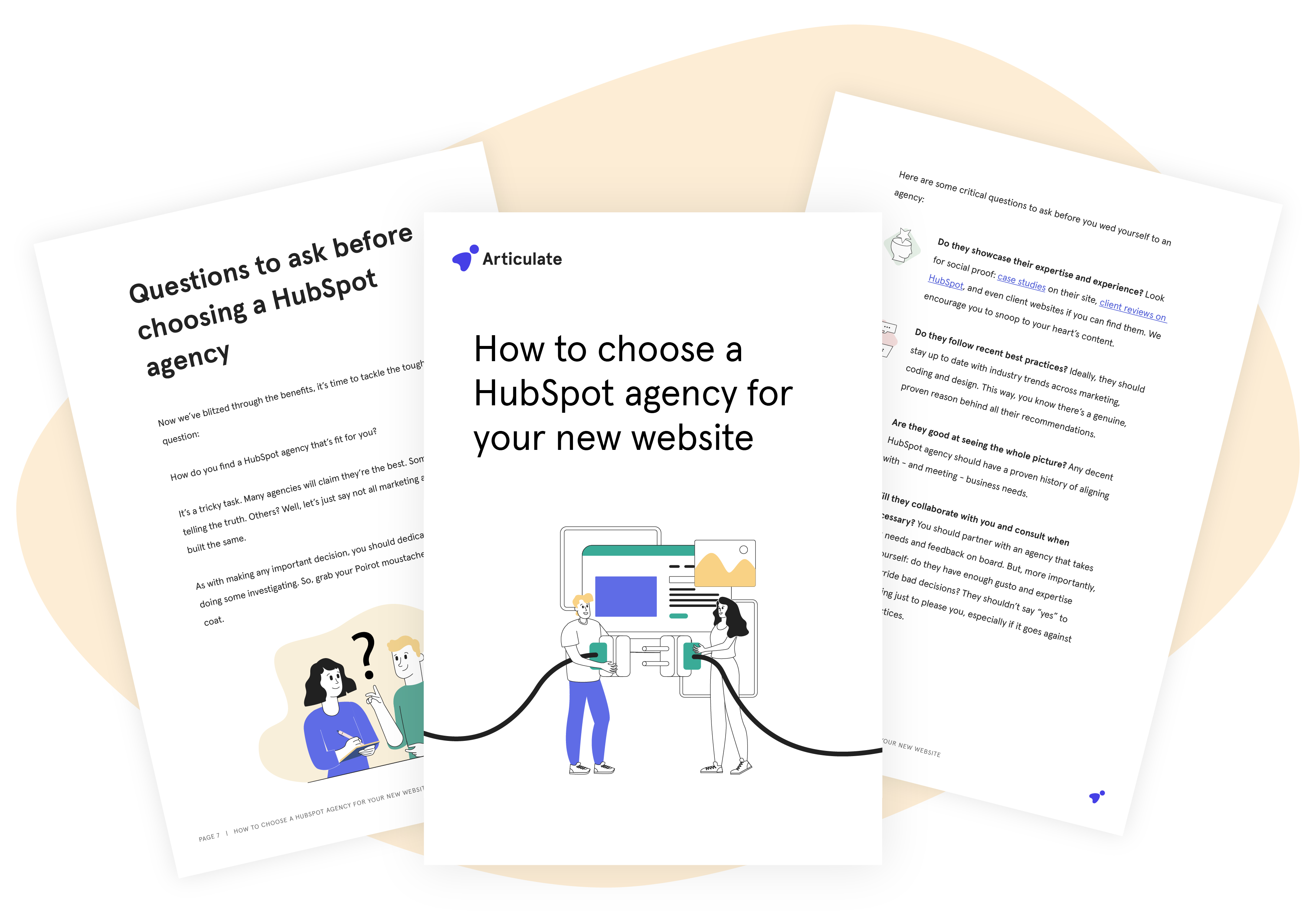 Articulate_How to choose a HubSpot agency for your new website_Large Mockup