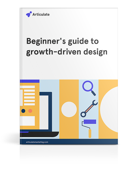 Beginner's guide to growth-driven design cover mockup