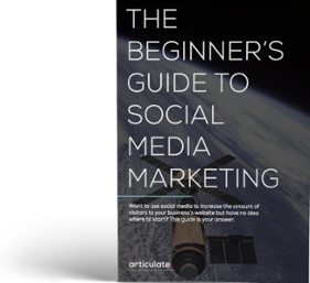 articulate marketing: beginners guide to social media marketing ebook cover