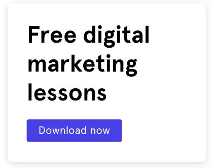 CTA call to action - blog sidebar free digital marketing lessons