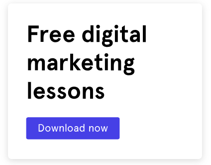 CTA call to action - blog sidebar free digital marketing lessons
