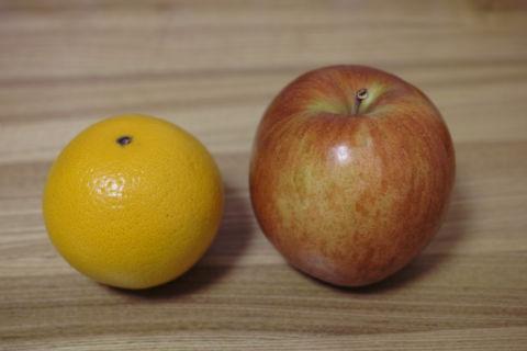 Orange and apple – A/B testing