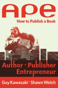 Book cover of APE: How to Publish a Book