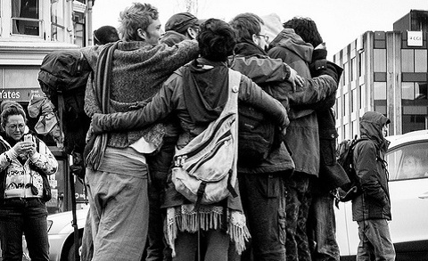 Group hug for brand community - marks of your tribe