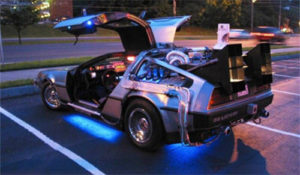 Blast your content marketing into the future: how to engage your prospects online - DeLorean, Back to the Future