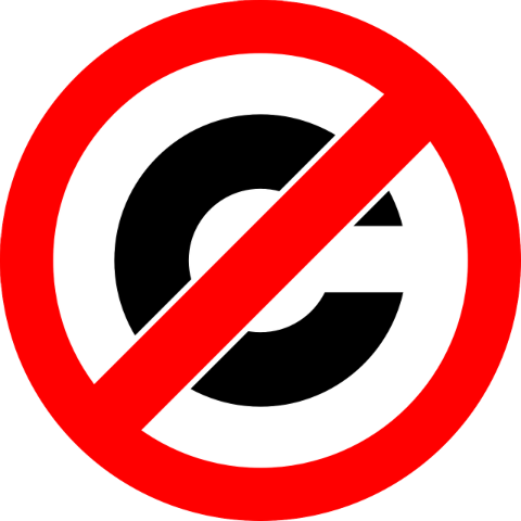 Don't copy copy: why original content always wins. Picture shows a copyright logo.