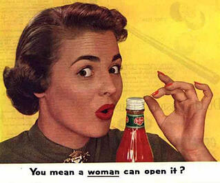 Sexist gender stereotypes advertisement
