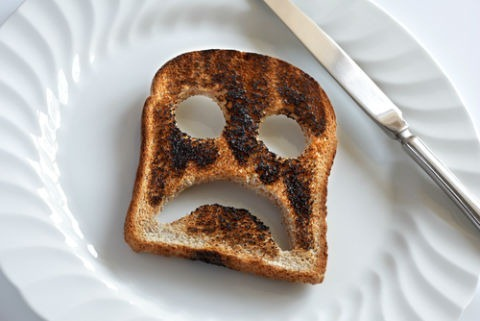Monday Mornings and how to defeat them - toast
