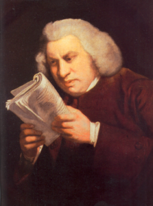 Blast your content marketing into the future: how to engage your prospects online - Samuel Johnson confused, trying to read