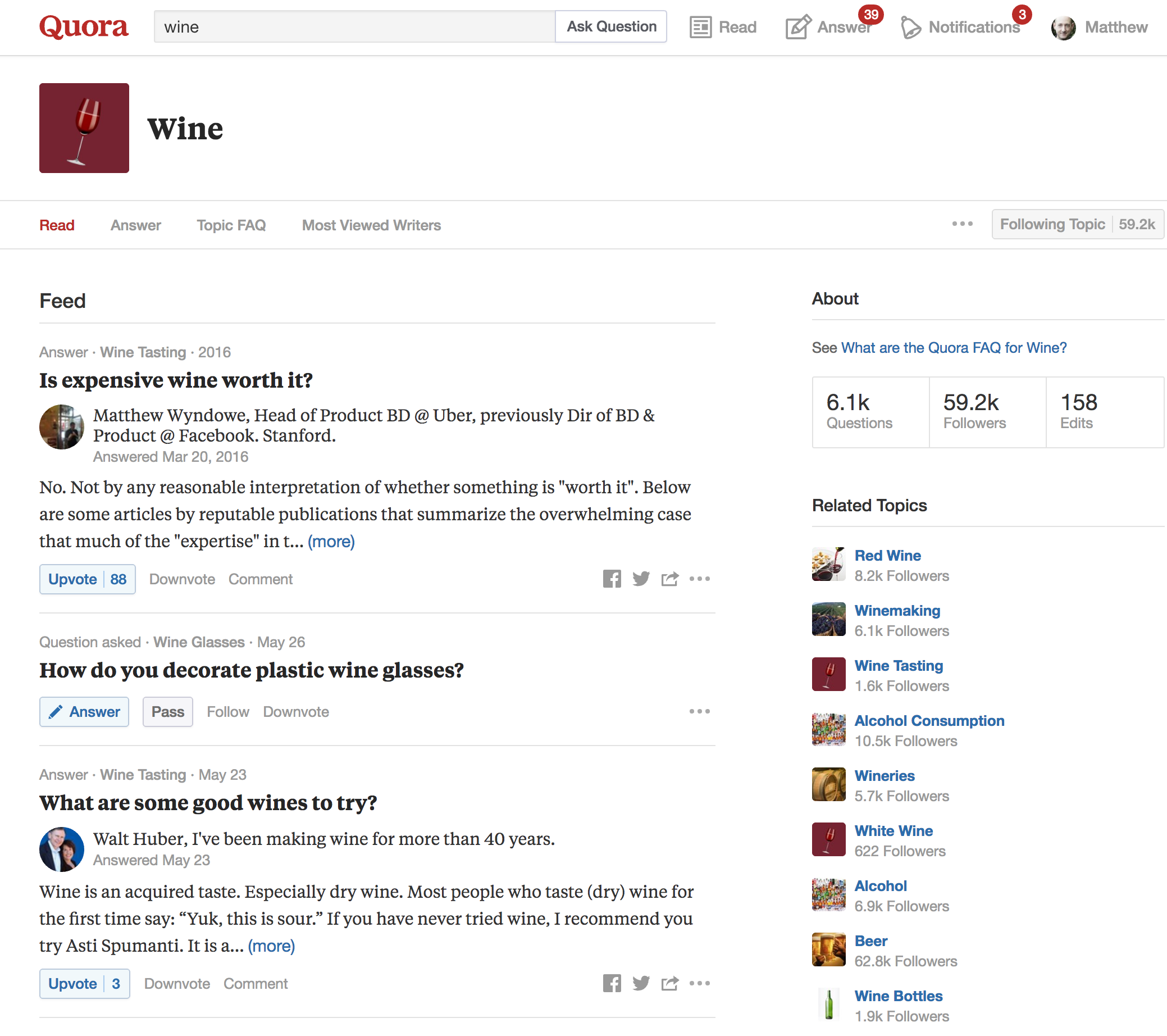 Quora being used for SEO keyword research