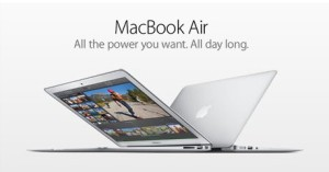 Apple MacBook Air ad