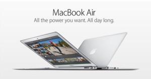 Apple MacBook Air ad