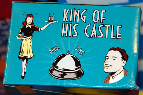 Sexist advert – king of his castle