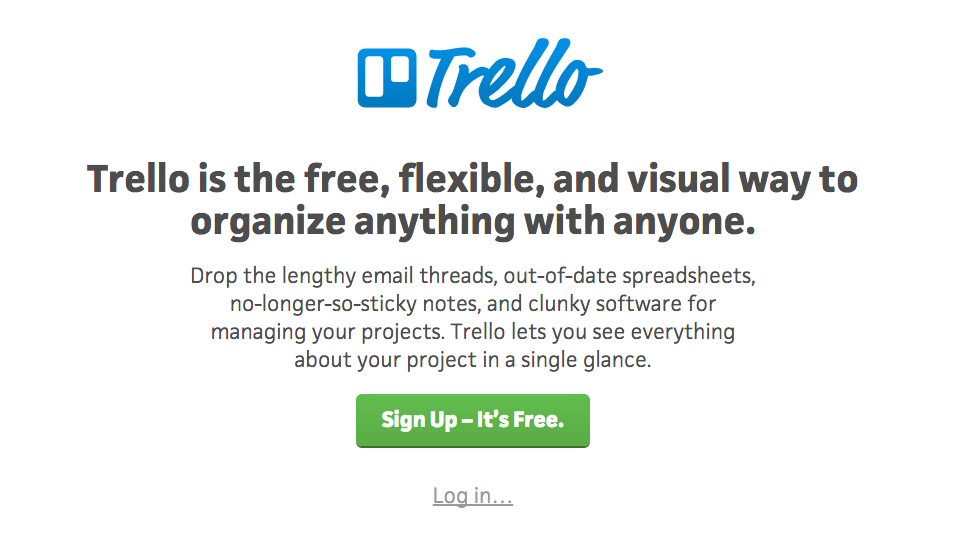 Copywriting in tech: Trello