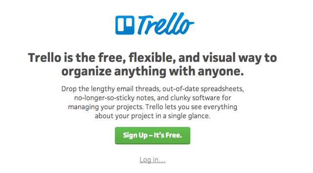 Copywriting in tech: Trello