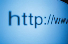 Image of the start of a website address