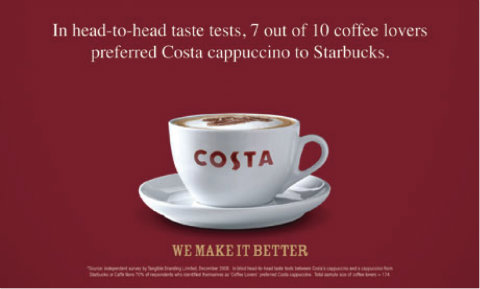 Costa advert