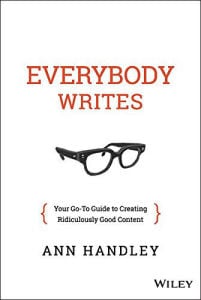 Everybody writes review book cover