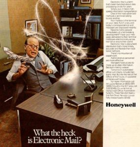 Copywriting in tech: Honeywell