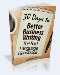 Cover of 30 Days to Better Business Writing