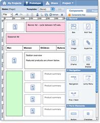 Protoshare online site prototyping