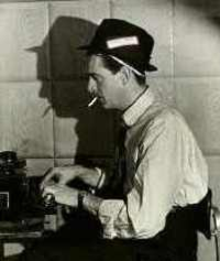 Picture of an old-style reporter
