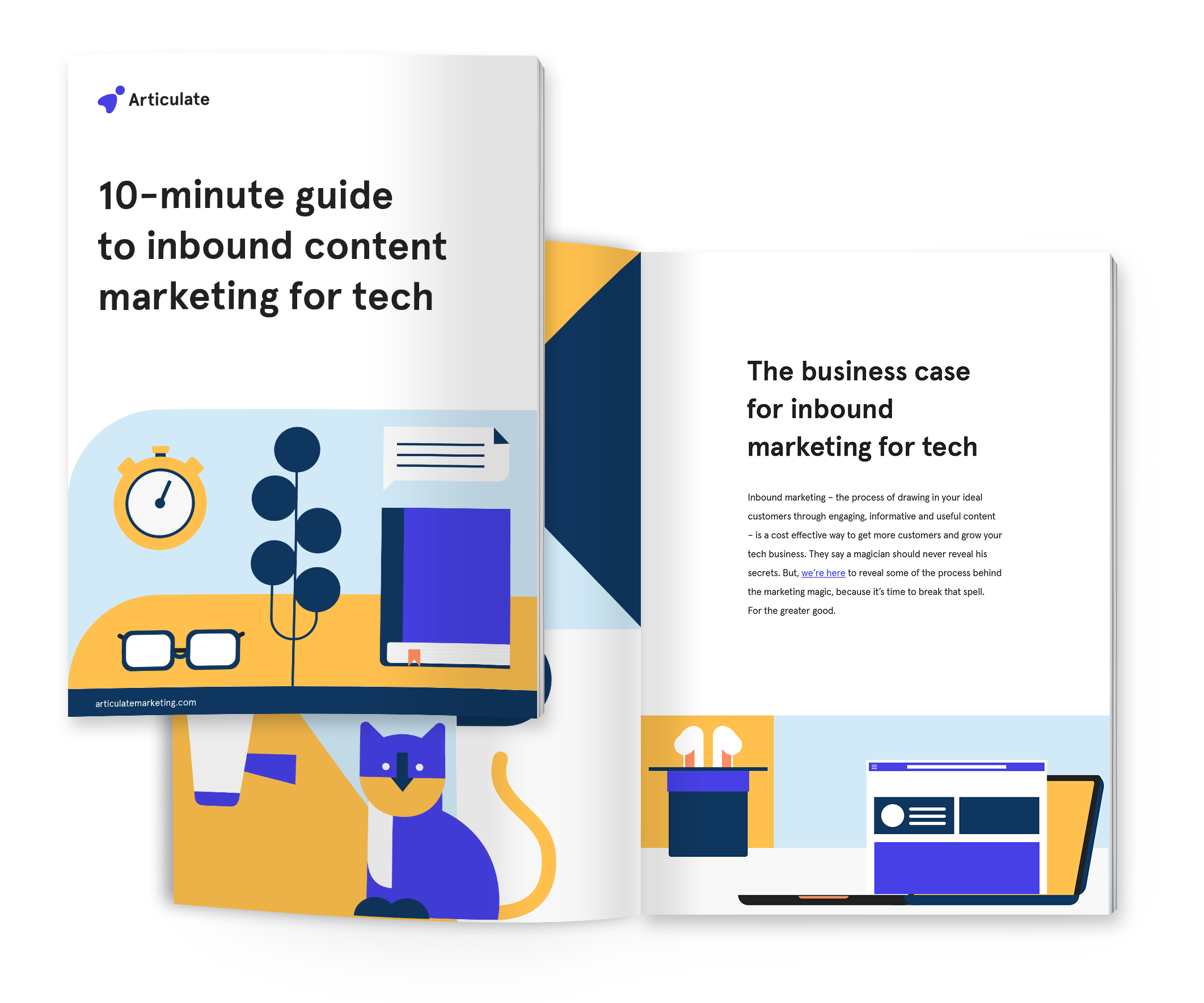 10-minute guide to inbound content marketing for tech