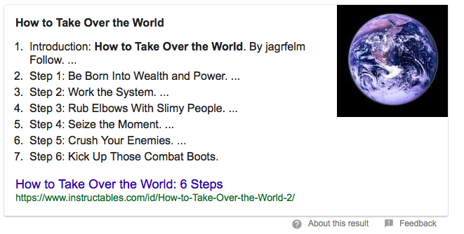 Google-answer-box