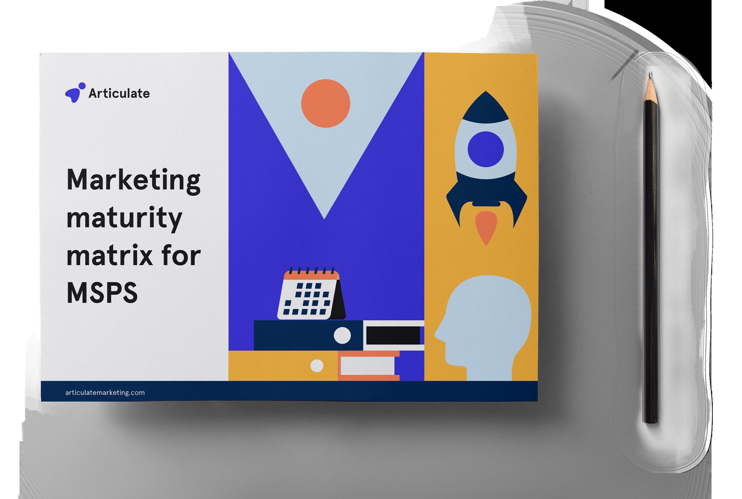 Marketing maturity matrix