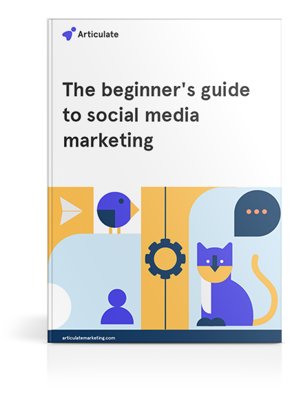 The beginner's guide to social media marketing-cover-mockup