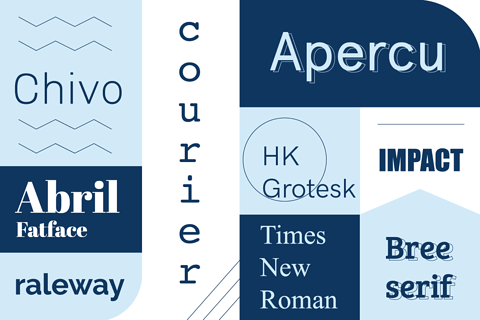 The complete guide to choosing and using fonts for your website