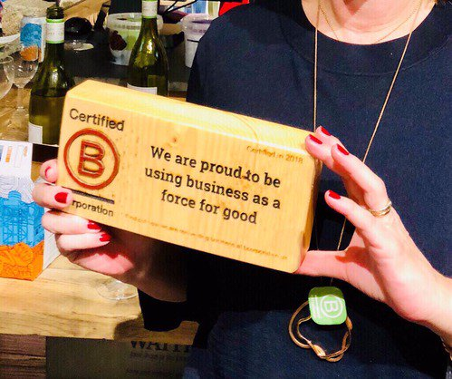 Articulate Marketing is a B Corp - we are proud to be using business as a force for good