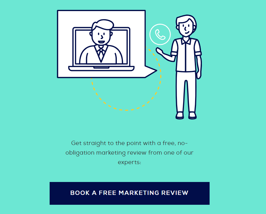improve contact page design - marketing assessment