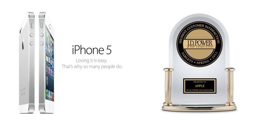 Examples of Apple product messaging