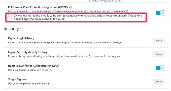 hubspot gdpr compliance 3 only allow compliant marketing emails to be sent