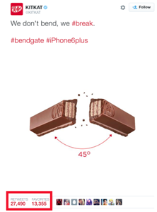 Newsjacking in 2018 - Kitkat