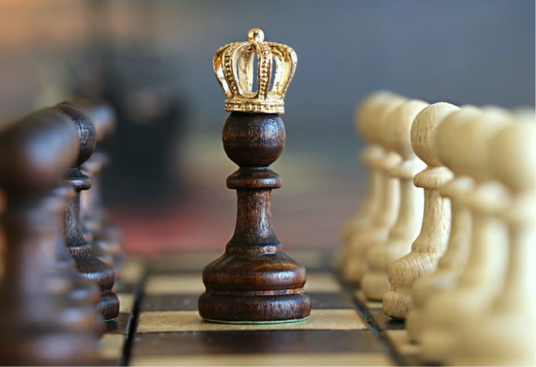 customer-centric marketing: chess piece
