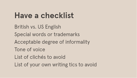 Have a checklist (24-step expert proofreading guide + free editing checklist)
