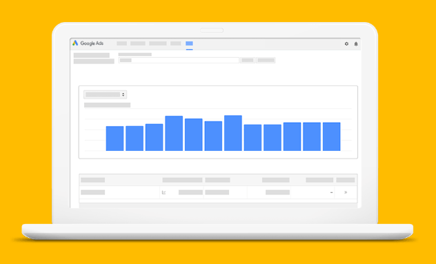 SEO keyword strategy - Google Ads: keyword planner