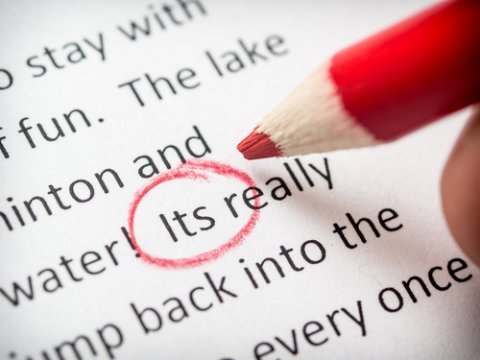 Cheat sheet: we're giving away our proofreading checklist