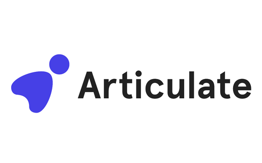 tech company logos - the articulate logo