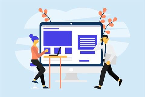 website design tips blog illustration